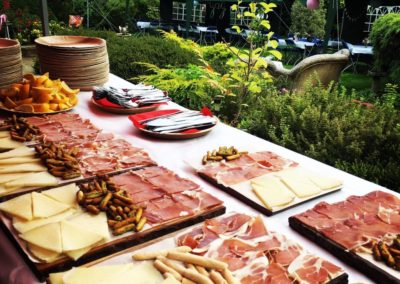 Jamon y Manchego provate event paella tapas catering spanish catering